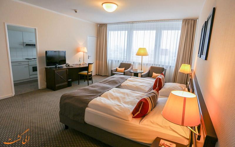 انواع اتاق های هتل سیلتر هوف برلین