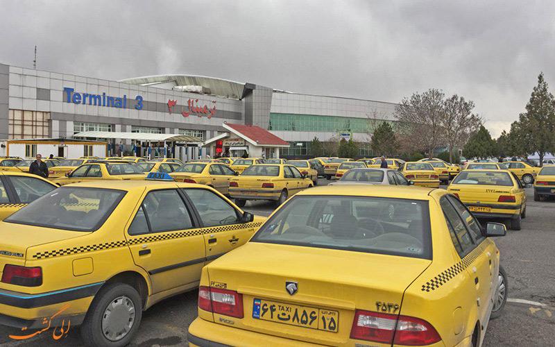 راه های دسترسی به فرودگاه بین المللی تبریز