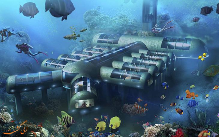 هتل زیردریایی پوزیدون ریزورت در فیجی
