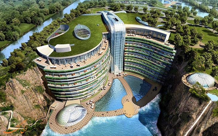 هتل زیردریایی شیما واندرلند در چین