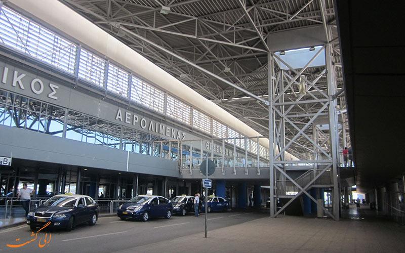 تاریخچه ی فرودگاه بین المللی سالونیک
