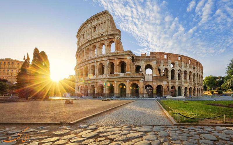 هتل کریس رم Kriss hotel Rome- کلوسئوم رم