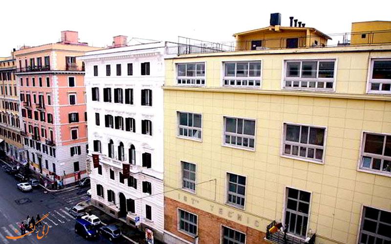 هتل تری استل رم Tre Stelle Rome
