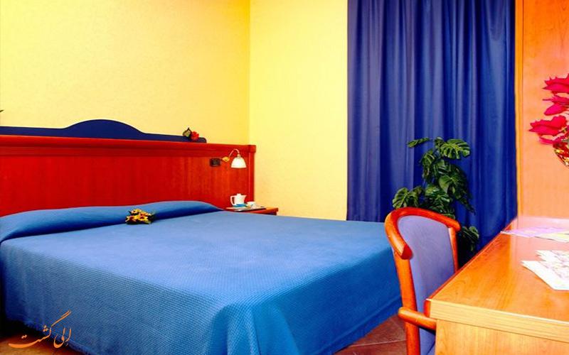 امکانات اتاق های هتل تری استل رم