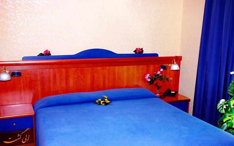 خدمات رفاهی هتل تری استل رم- اتاق