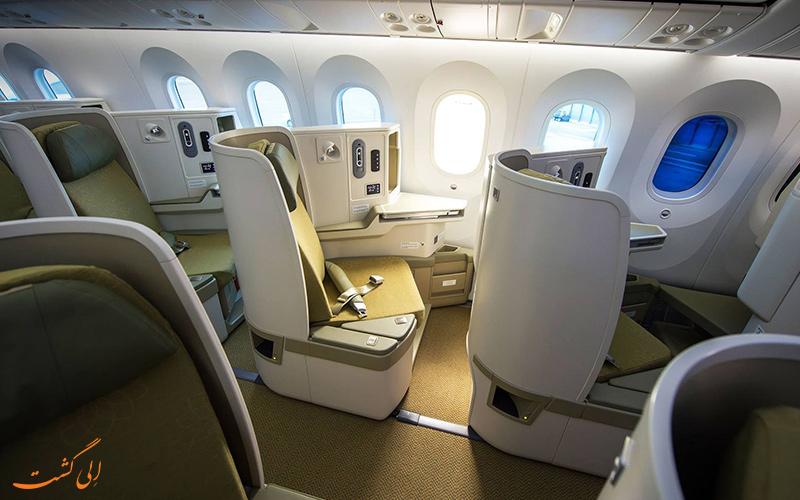 کلاس های پروازی شرکت هواپیمایی ویتنام ایرلاینز