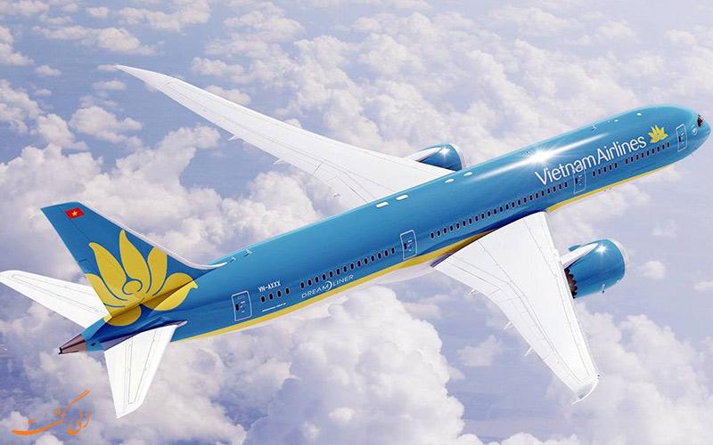 آشنایی با شرکت هواپیمایی ویتنام ایرلاینز