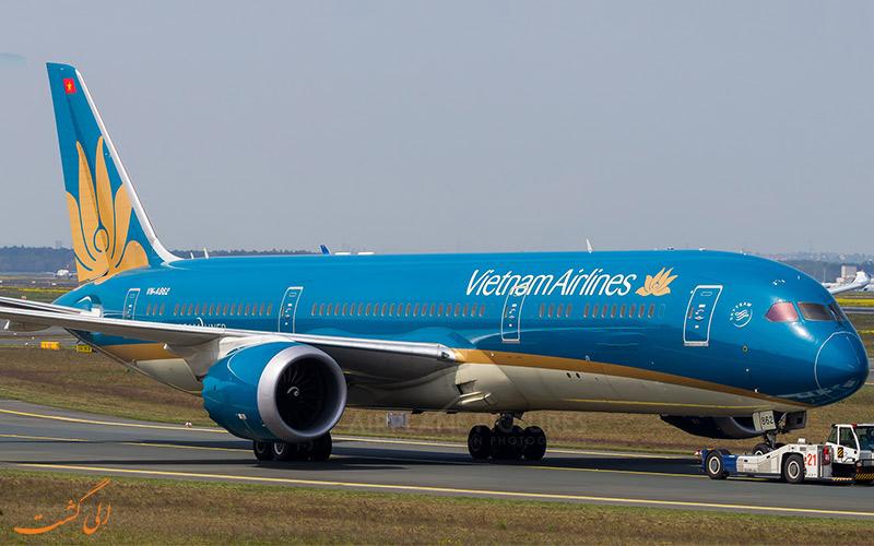 اطلاعات شرکت هواپیمایی ویتنام ایرلاینز