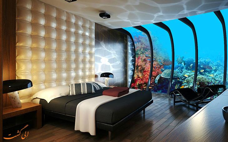 هتل زیردریایی واتر دیسکوز در دبی
