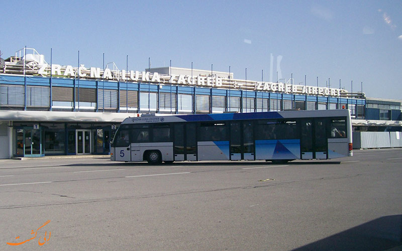 راه های دسترسی به فرودگاه زاگرب