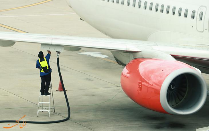 سوخت هواپیما