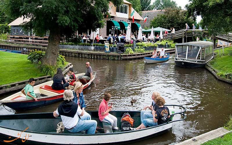 زندگی در قایق- حقایقی راجع به زندگی در هلند