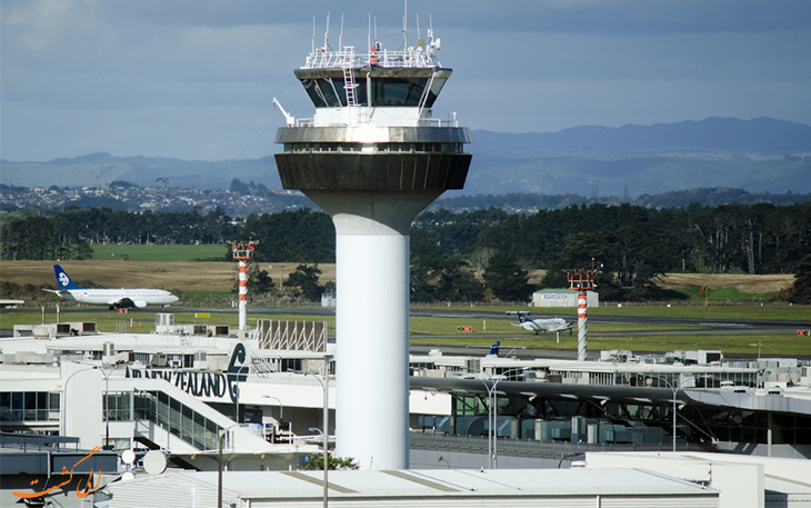 فرودگاه اوکلند