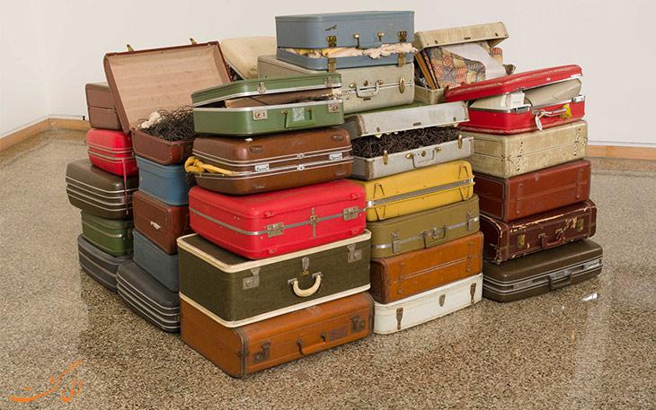ترفندهای تحویل چمدان