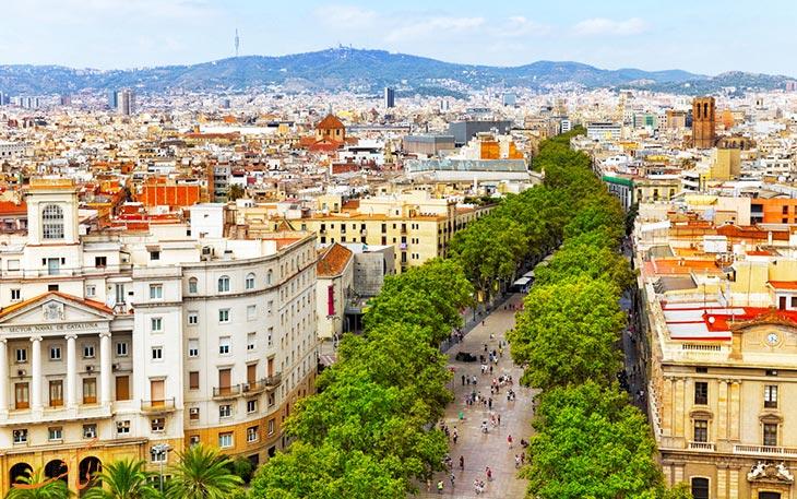 حمل و نقل بارسلونا