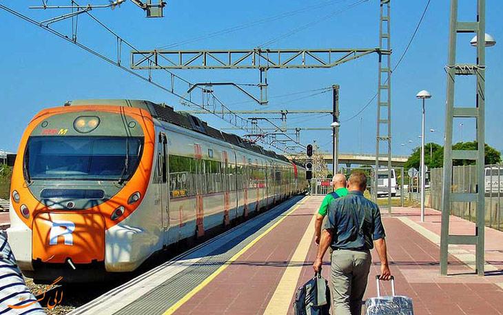 قطار بارسلونا