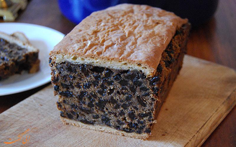 کیک میوه ای Black bun