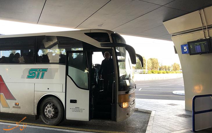 اتوبوس در حمل و نقل فرودگاه فیومیچینو