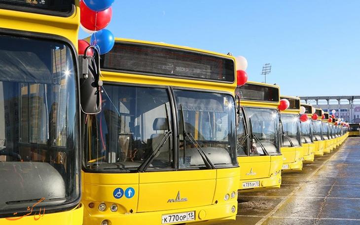 هزینه حمل و نقل در شهر سارانک