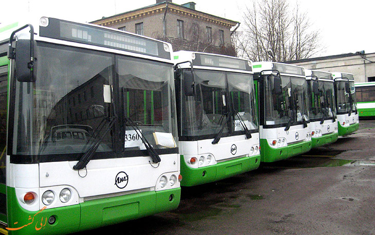 اتوبوس های فرودگاه سنت پترزبورگ