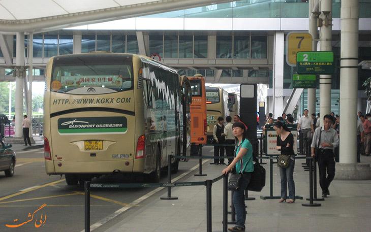 اتوبوس فرودگاه گوانگجو