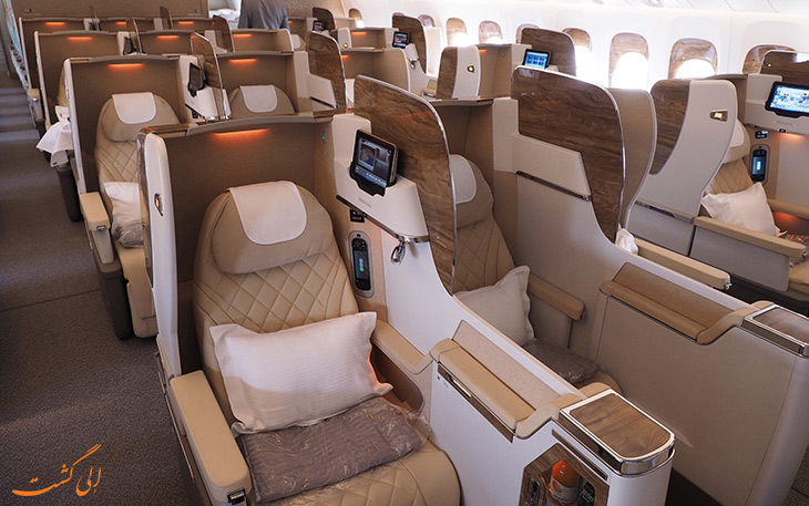 صندلی های پرواز بیزینس کلاس
