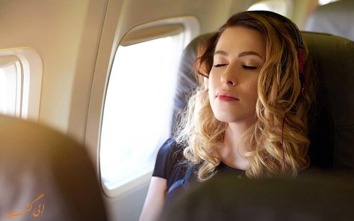 تمرین های تنفسی برای کاهش استرس پرواز