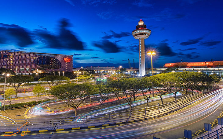 فرودگاه چانگی بهترین فرودگاه جهان