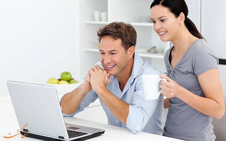 انجام چک-این آنلاین