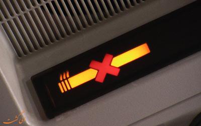 سیگار کشیدن در هواپیما