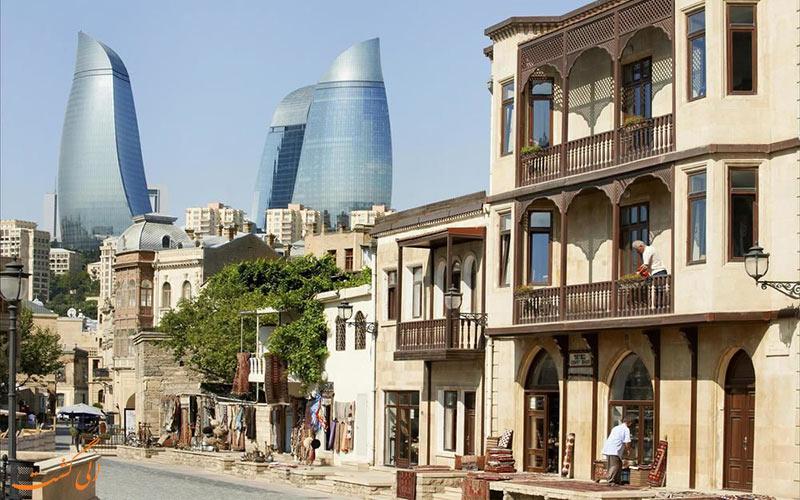 هتل فیرمونت باکو- جاذبه های نزدیک هتل