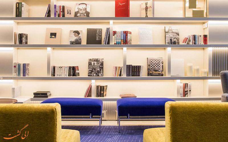 امکانات تفریحی هتل دو سورس پاریس- کتابخانه
