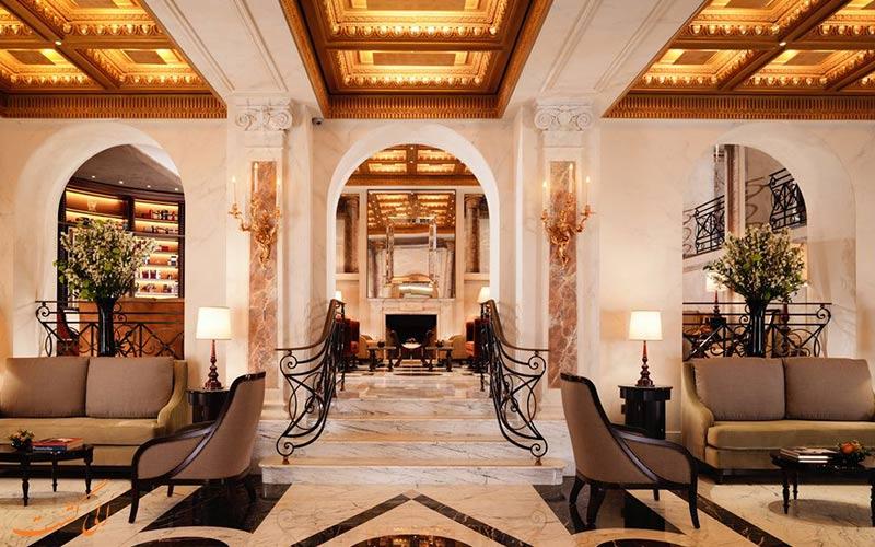 خدمات رفاهی هتل ادن رم- لابی