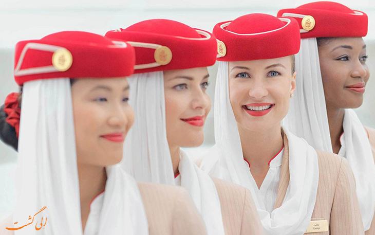 مهمانداران هواپیمایی امارات