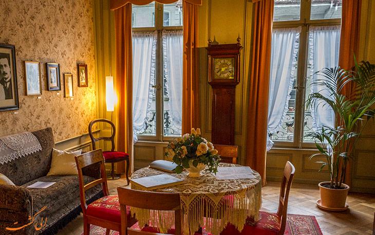 خانه انیشتین در برن سوئیس