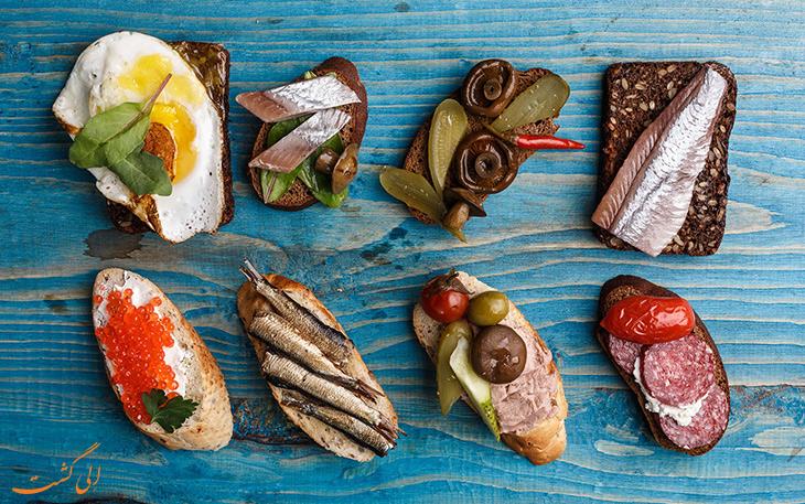 هزینه خورد و خوراک در شهر اینترلاکن