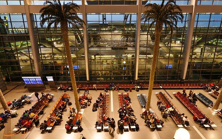 عکس فرودگاه دوحه