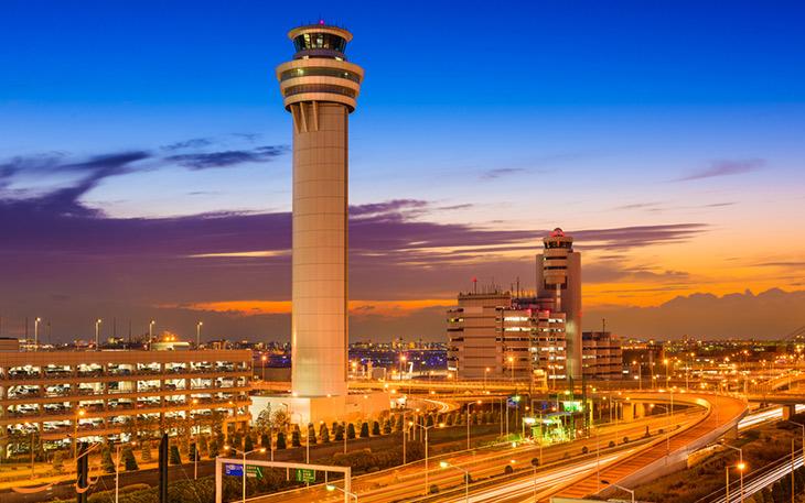 لیست پررفت و آمدترین فرودگاه های جهان