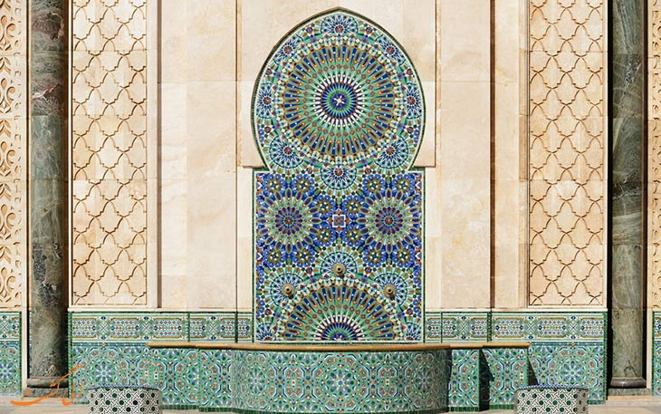 معماری مسجد کازابلانکا