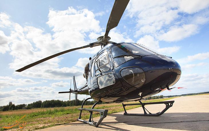 هلیکوپتر به موناکو