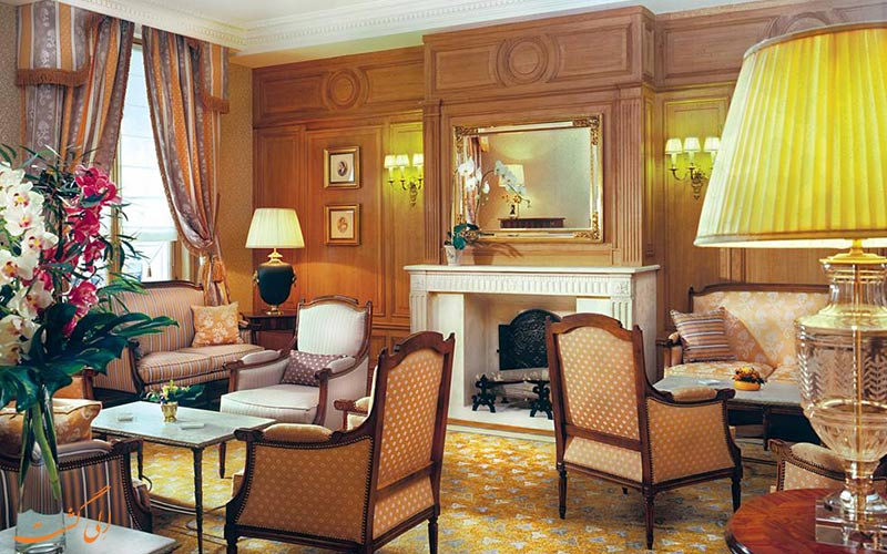 hotel Mayfair Paris- eligasht.com شومینه هتل