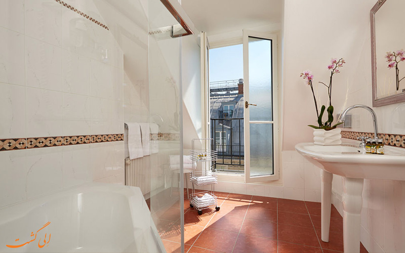 انواع اتاق های هتل میفر پاریس