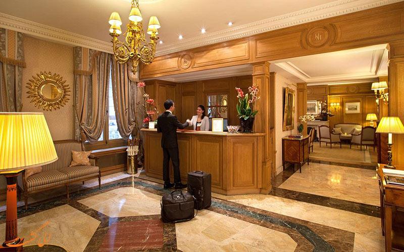 خدمات رفاهی هتل میفر پاریس