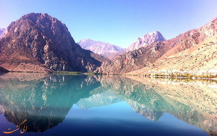 دریاچه اسکندرکول نگین کشور تاجیکستان