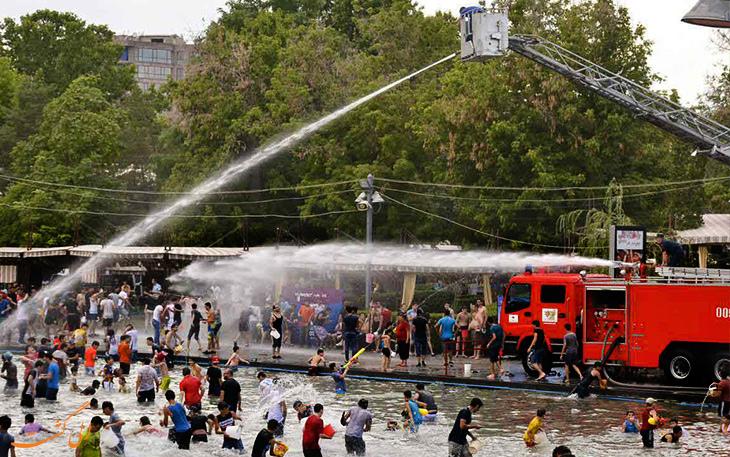 جشنواره وارداوار یا آب پاشان در ارمنستان