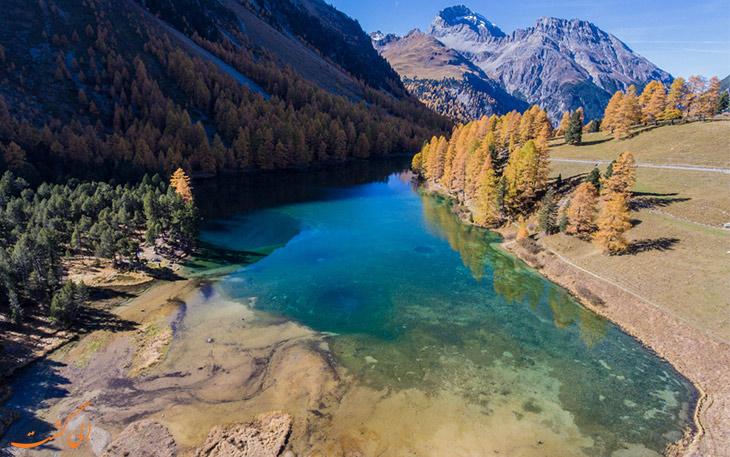 دریاچه پارک ملی سوئیس