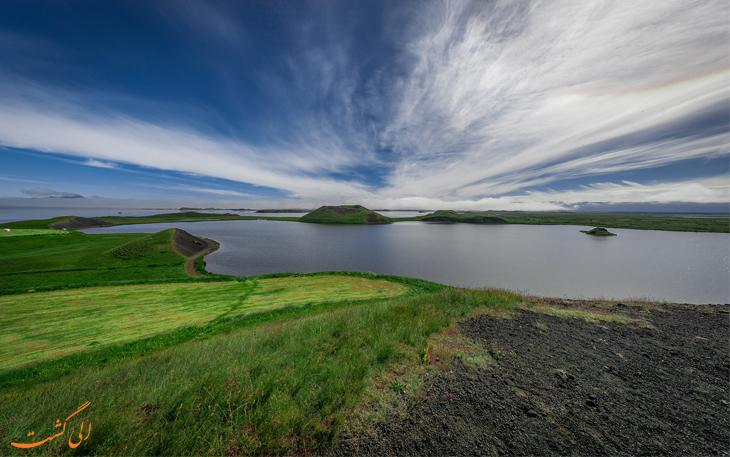 برکه در ایسلند