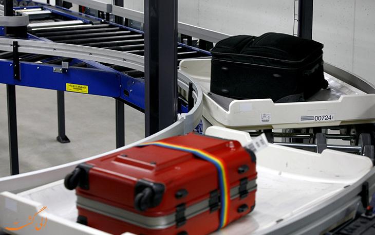 گم شدن چمدان در فرودگاه