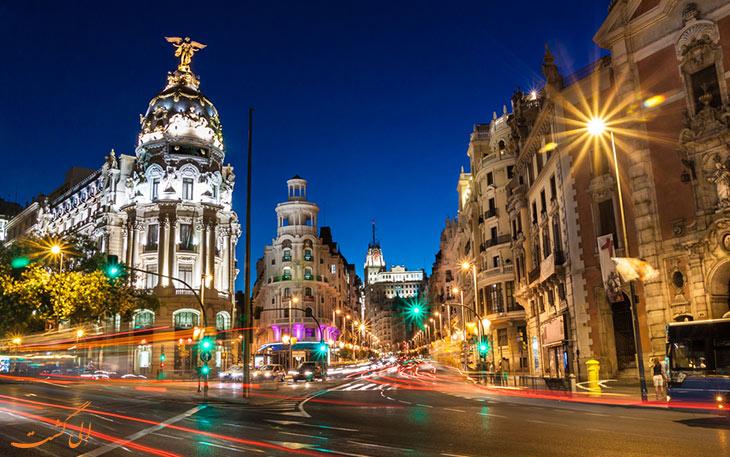 دسترسی به مرکز شهر مادرید