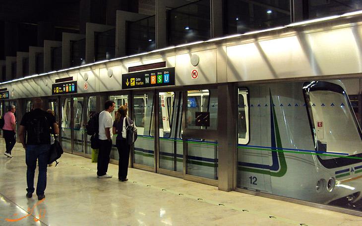 مترو فرودگاه باراخاس مادرید